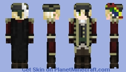 Pirate King - (Includes Pet Parrot!) Minecraft Skin