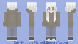 blurred tears Minecraft Skin