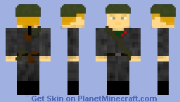 DDR- east german soldier / nationale volksarmee soldat _  1946-1990 with AK-47M(german version) Minecraft