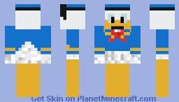 Donald Duck Minecraft Skin