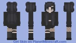 Gothy Princess Minecraft Skin