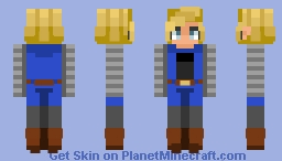 Android18 | Request Minecraft Skin