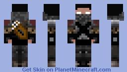 Herobrine Hunter/Assassin Minecraft Skin