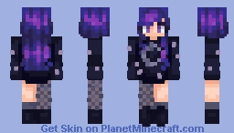 ♫*.:。яєℓιєf。:.*♫ | Night Sky [CE] Minecraft Skin