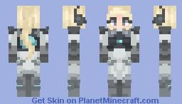 Nova || Widowmaker Minecraft Skin