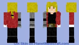 Ed Erlic | Fullmetal Alchemist brotherhood Minecraft Skin