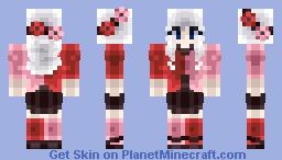 Split Valentine Minecraft Skin