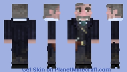 (11th in Western Contest) Deputy U.S. Marshal Virgil Earp (Sam Elliott) Minecraft Skin