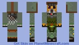 WasteLand Ana Minecraft Skin