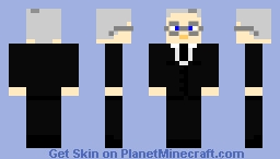 Woodrow Wilson, 28th President of the United States of America, 1913-1921 Minecraft Skin