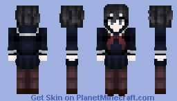 Japanese Uniform Minecraft Skin