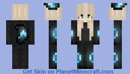 Blue Umbreon Minecraft Skin