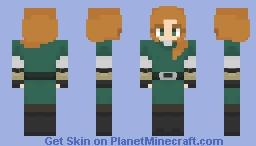 Alex Minecraft Skin