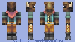 Buffalo Bill Minecraft Skin