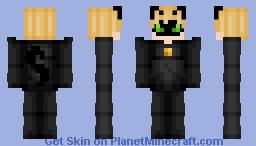 Cat Noir- Miraculous Ladybug challenge #3 Minecraft Skin