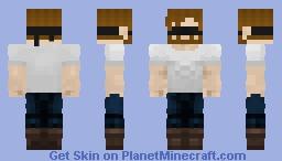 Blind Chuck Norris Minecraft Skin