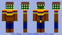 The cactus - western skin contest Minecraft Skin