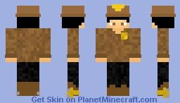County Sherrif Minecraft Skin