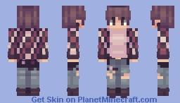 Fire Minecraft Skin