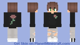 Rose colored boy 🍁 Minecraft Skin