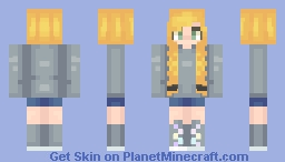 There's Always Room For Improvement ~ Catligraphy Minecraft Skin
