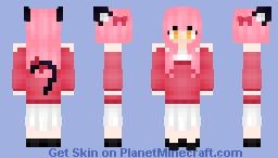 ^w^ Kawaii~chan Minecraft Skin