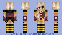 Let me be your goddess. ✿ Minecraft Skin