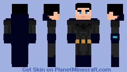 Batman unmasked Minecraft Skin