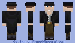 "Outlaw Billy ""Knockout"" Glover Minecraft Skin"