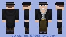 "Outlaw Billy ""Knockout"" Glover Minecraft Skin"