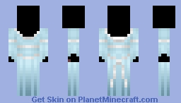 Pale Blue Minecraft Skin