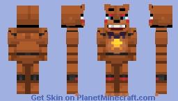 Rockstar Freddy | FNaF 6 / FFPS [Better in 3D] Minecraft