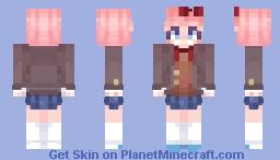 Sayori~ Minecraft Skin