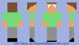 John fnaf se/to Minecraft Skin