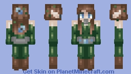 """""""Where does my heart lie?"""" - ce and oc Minecraft Skin"""