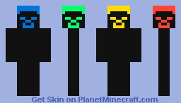 Very Mysterious People Minecraft Skin
