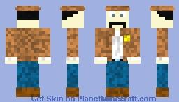 Moustachio Sheriff Minecraft Skin