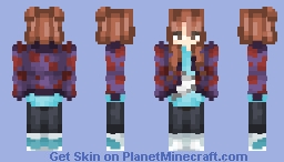 BTS - Jungkook (Genderbend -  Not Today) Minecraft Skin