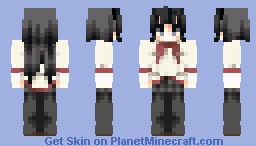 Homura Akemi Minecraft Skin