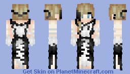 "ℒε!𝓪🎶 ~ ""Music is not to hear, it is to feel"" ~ Contest entry ~ Minecraft Skin"