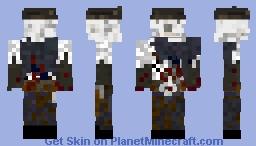 Western Zombie Minecraft Skin