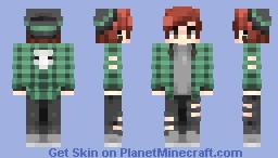 i'd rather sleep // st w/ victuuri Minecraft Skin