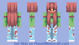 another tumblr gurl :') Minecraft Skin