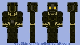 Eric Killmonger | Black Panther Minecraft Skin
