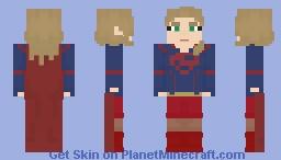 Supergirl - Supergirl (CW) Minecraft Skin