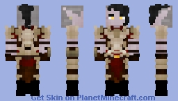 Tullirious, The Dark Elf Wanderer Minecraft Skin