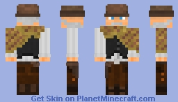 Western Skin Contest - Entry Minecraft Skin