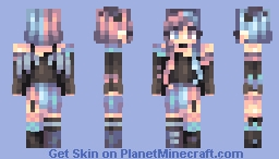 Painted Rain ~ st Minecraft Skin