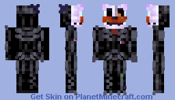 Molten Freddy/ Ennard But With a Freddy Mask [FNAF 6 Pizzaria Simulator] Minecraft Skin