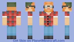 A Frickin Hipster (Level 2 Special)! Minecraft Skin